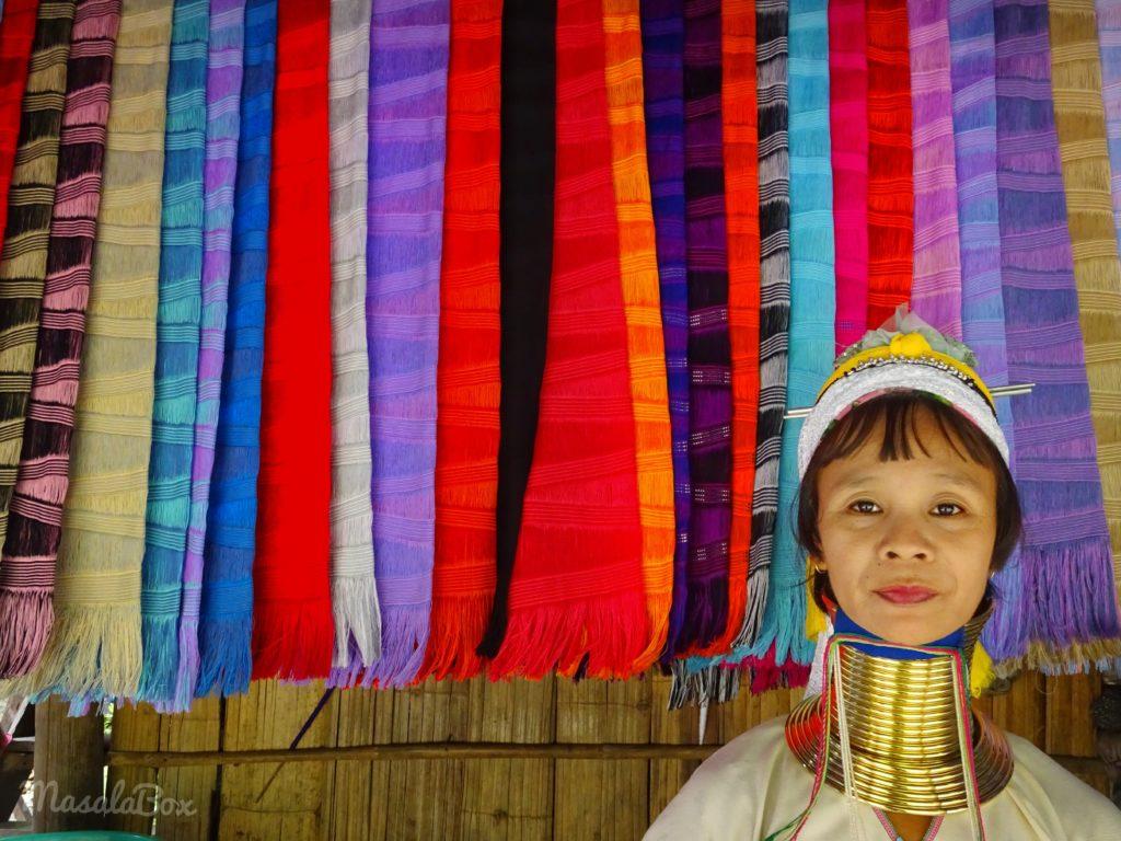 long necked karen tribe