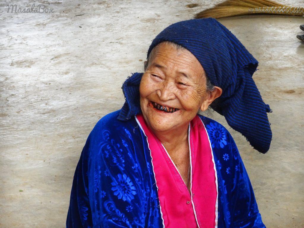 palong tribe woman