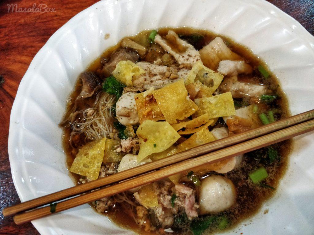 pork ball noodle soup