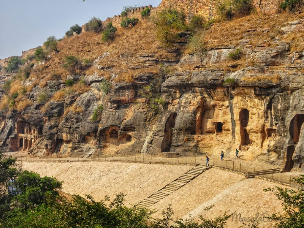 Majestic and Vast Siddhanchal rock cut jain temples