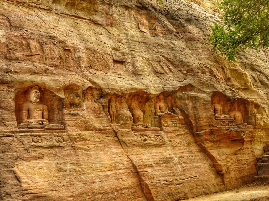 Jain rock cut temples