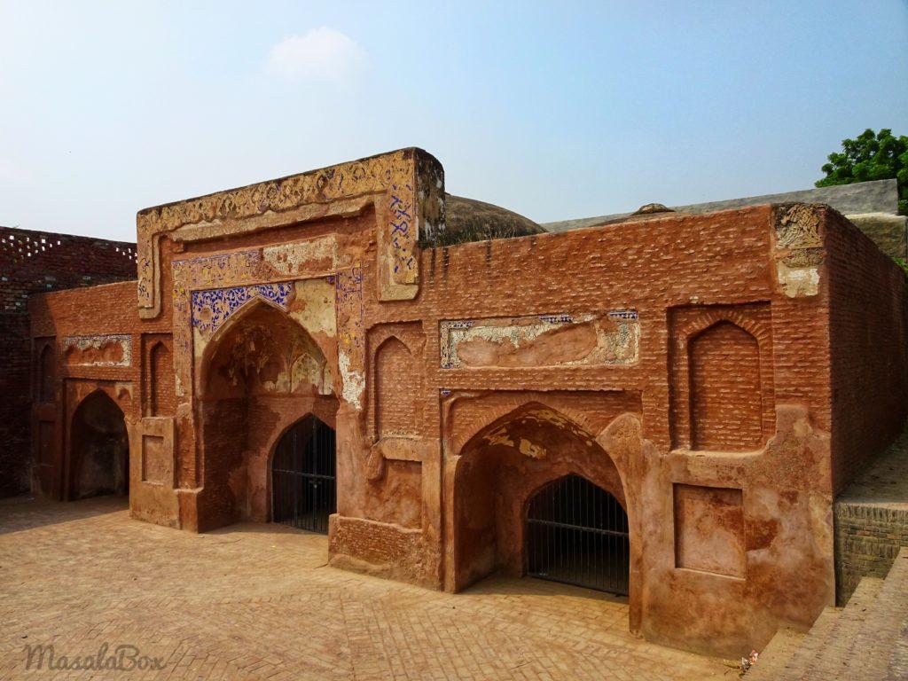 mosque sarai amanat khan