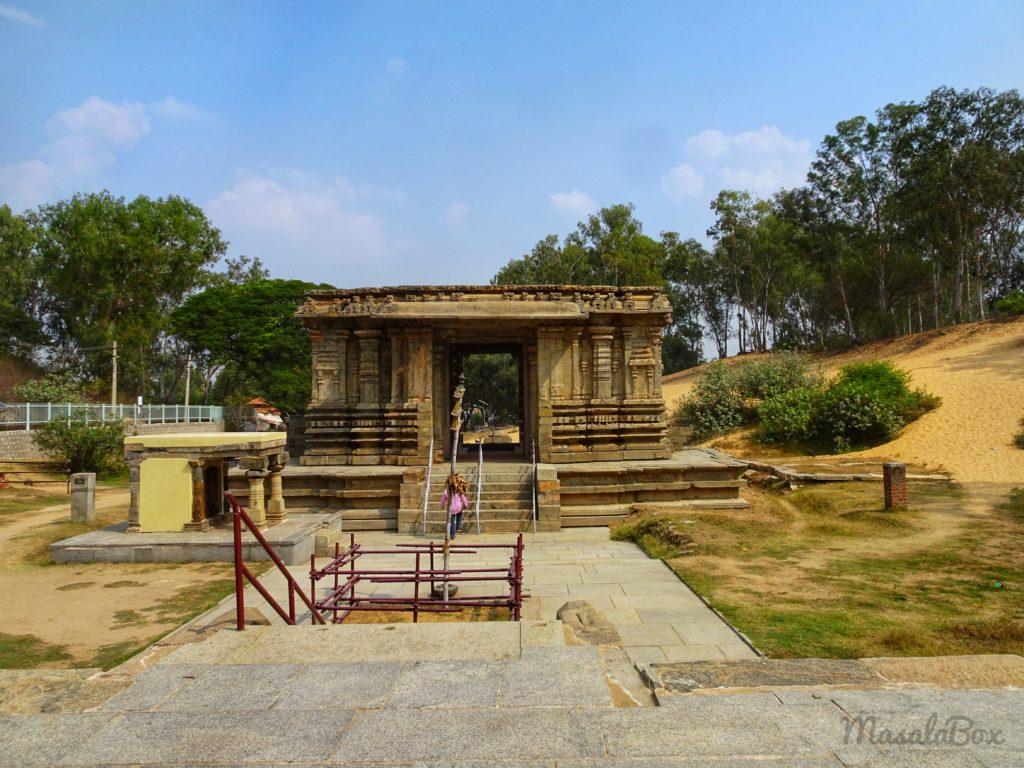 Entrance of Keerthi Narayana Temple