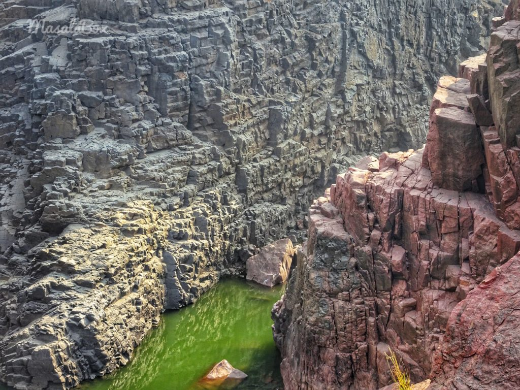 Raneh falls gorge