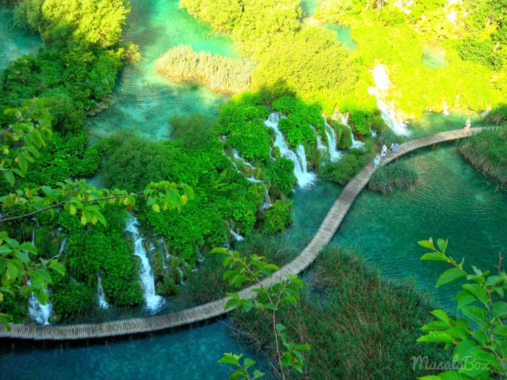 trail plitvice lake national park