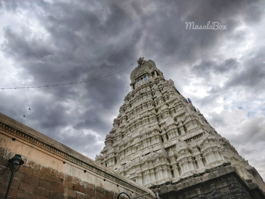 Varadaraj west gopuram
