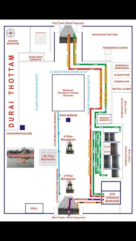 athi varadar map
