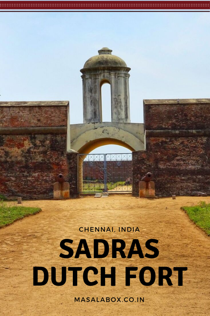 Pin IT - Sadras Dutch Fort