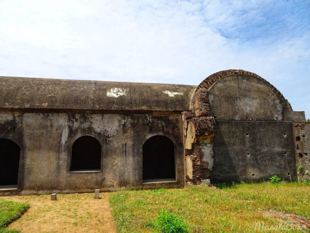 sadras fort ruins