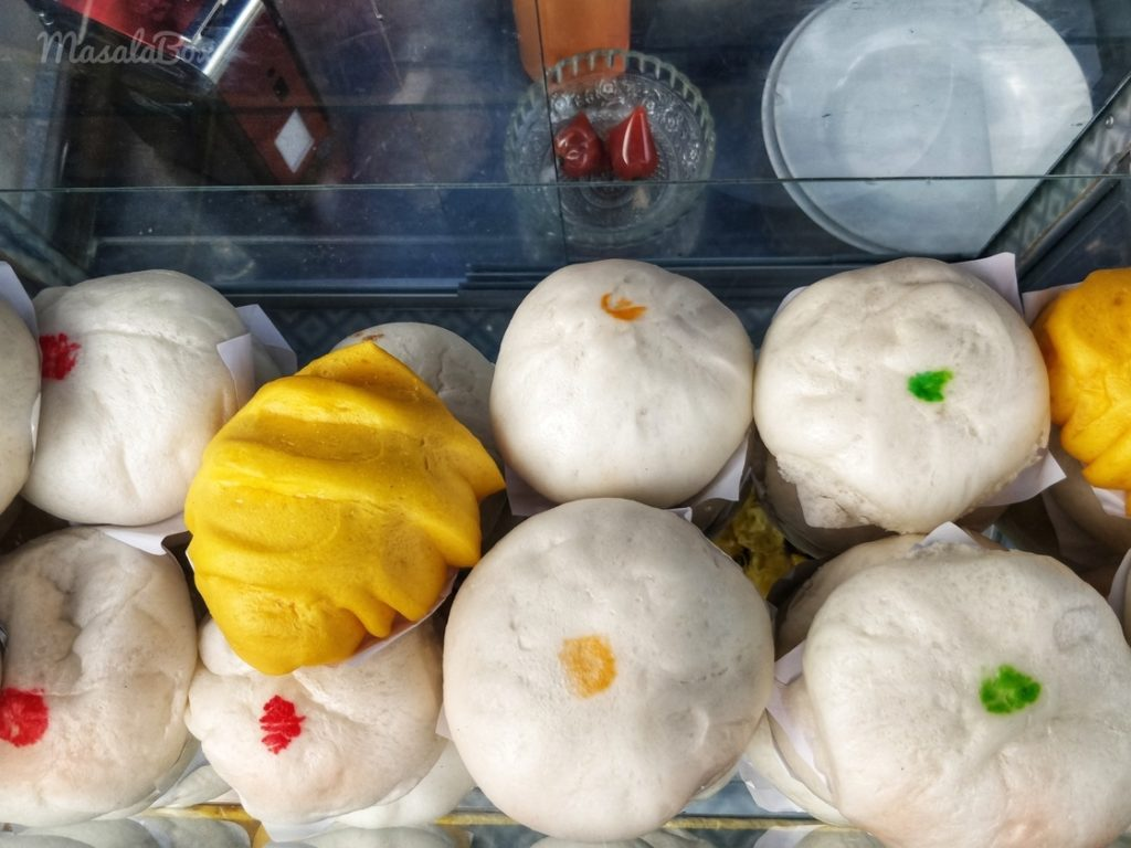 salapao thai steamed buns
