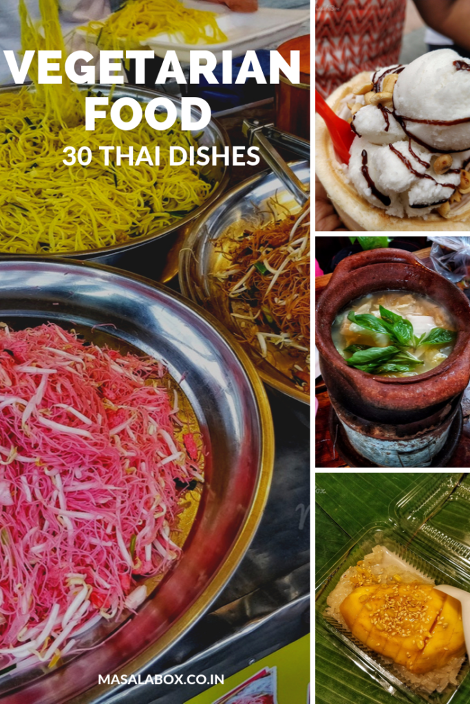 thai veg food pinterest