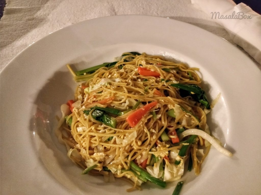 thai yellow noodles