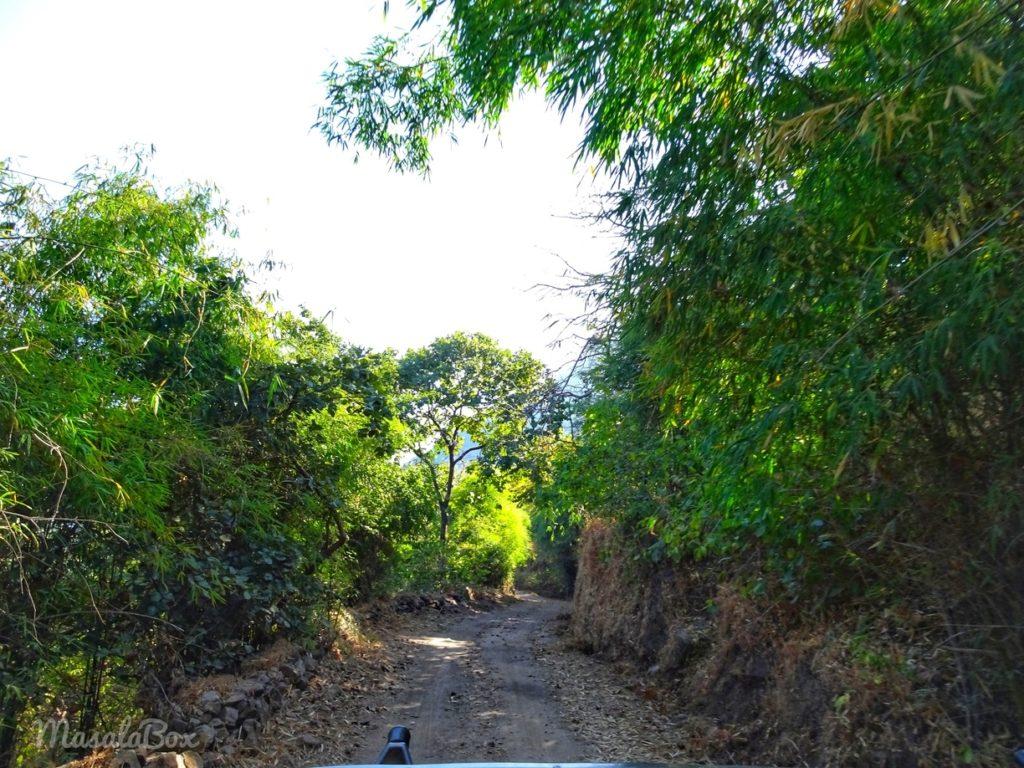 way to bandhavgarh fort