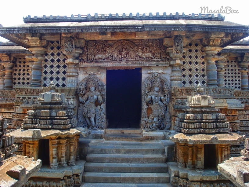 Hoysaleswara temple at Halebidu