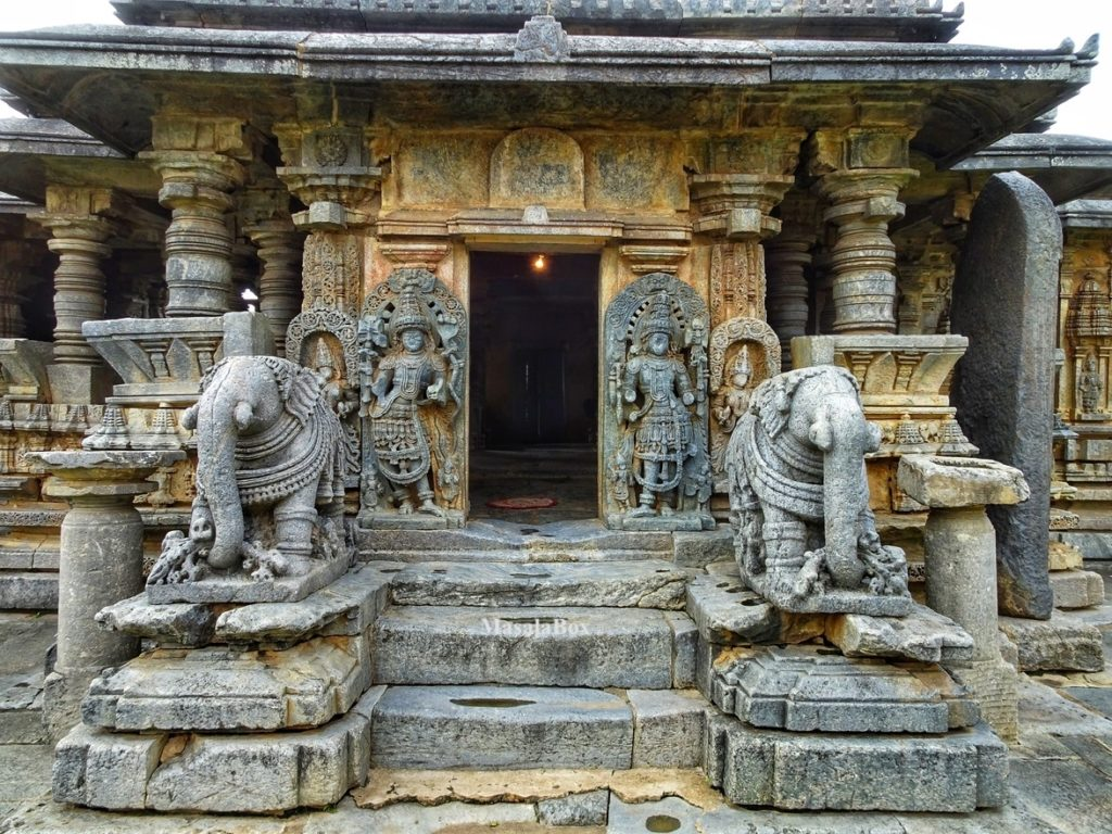 Hoysala temple entrance
