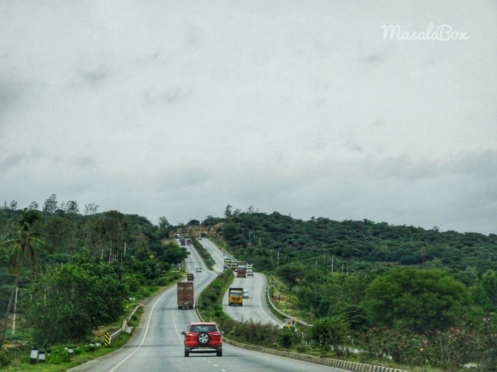 bangalore andhra highway