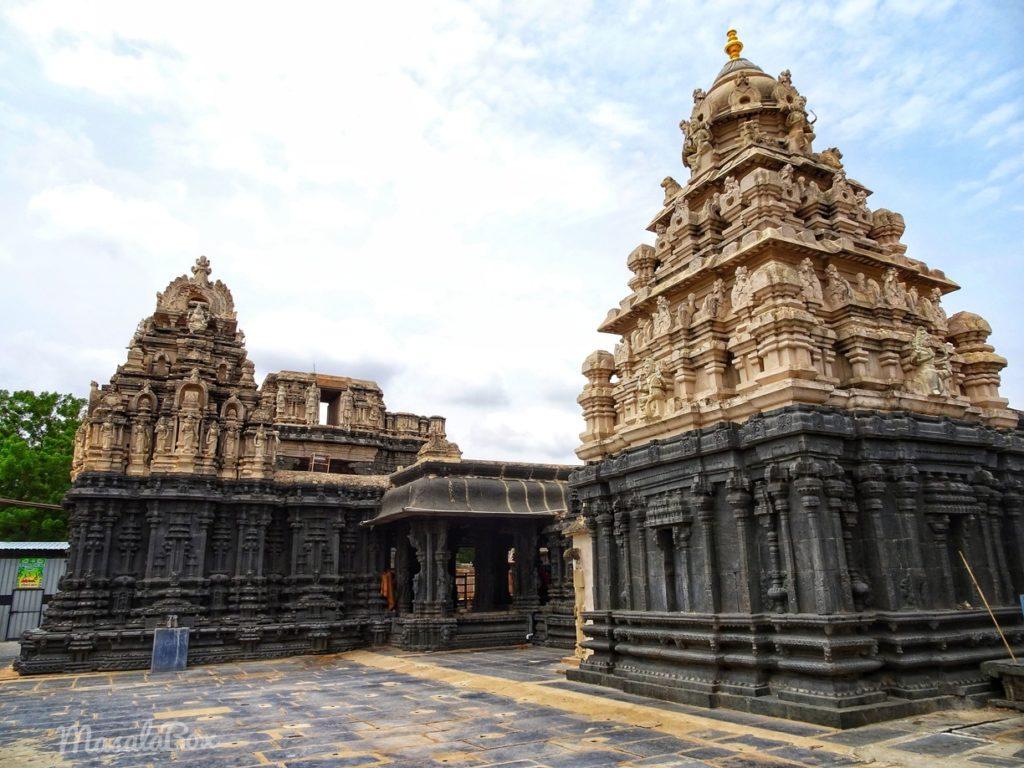 bugga ramalingeshwara temple complex