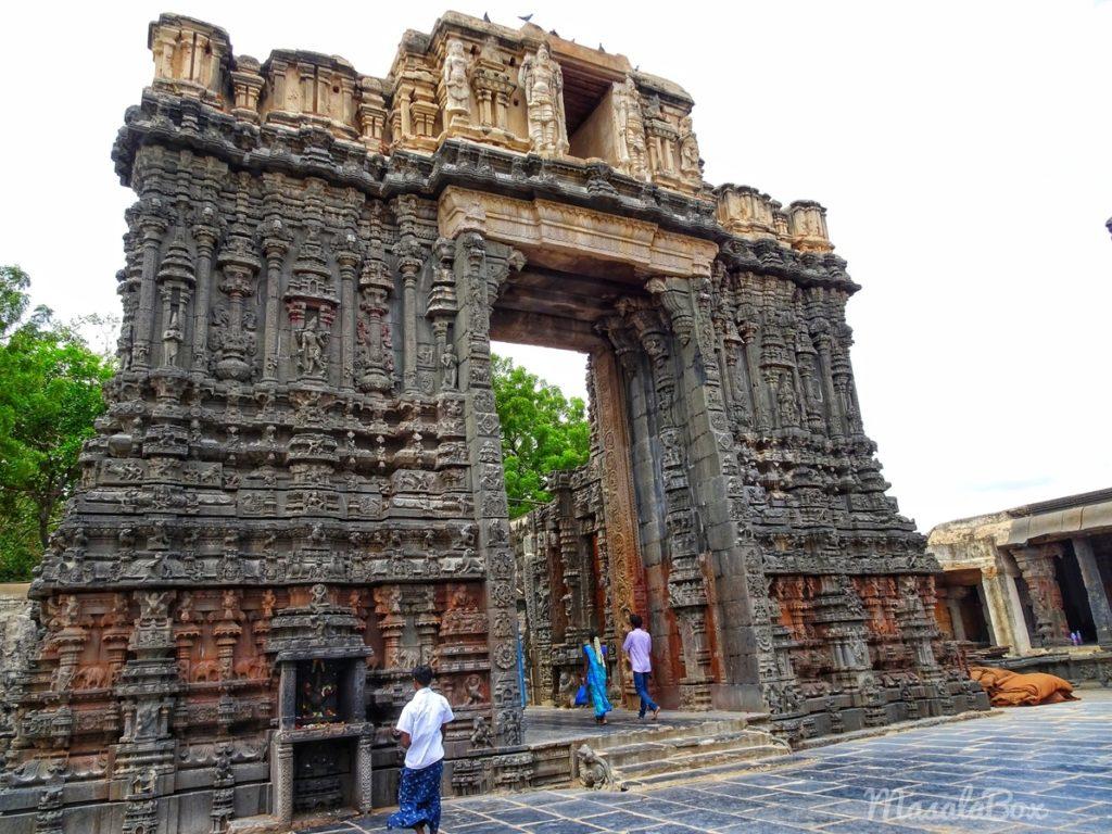bugga ramalingeshwara temple entrance