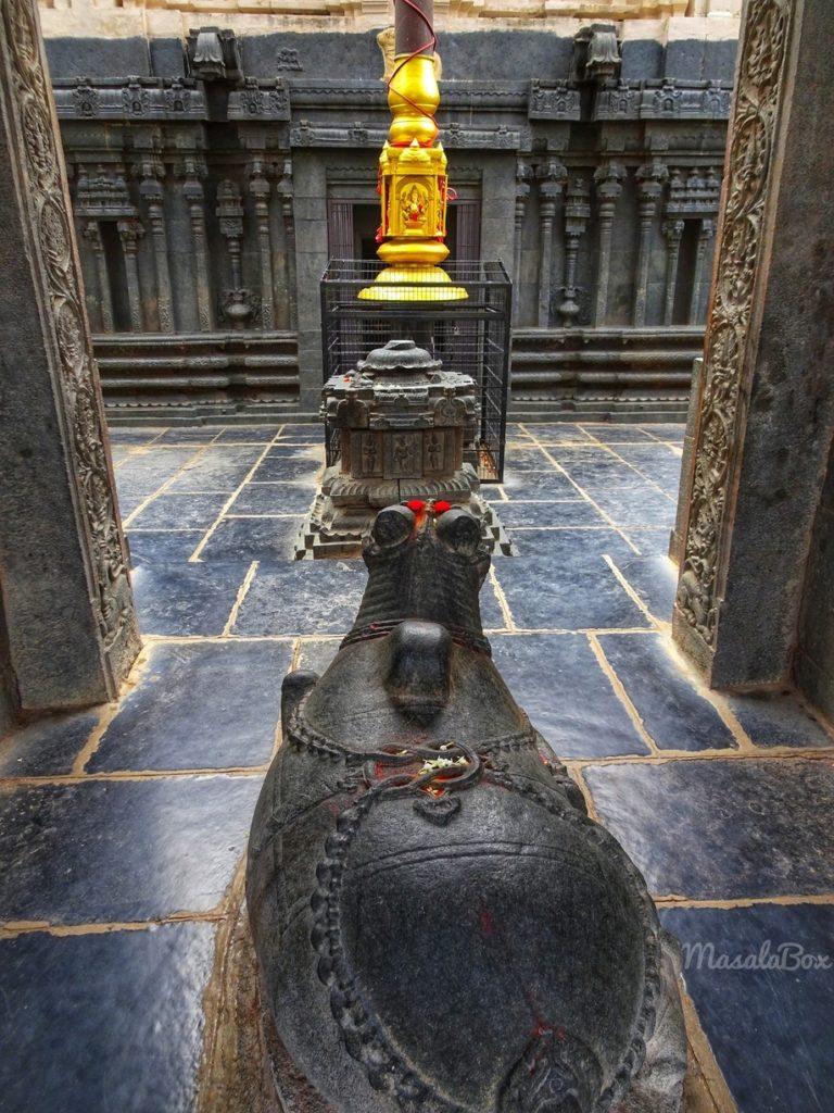 bugga ramalingeshwara temple south