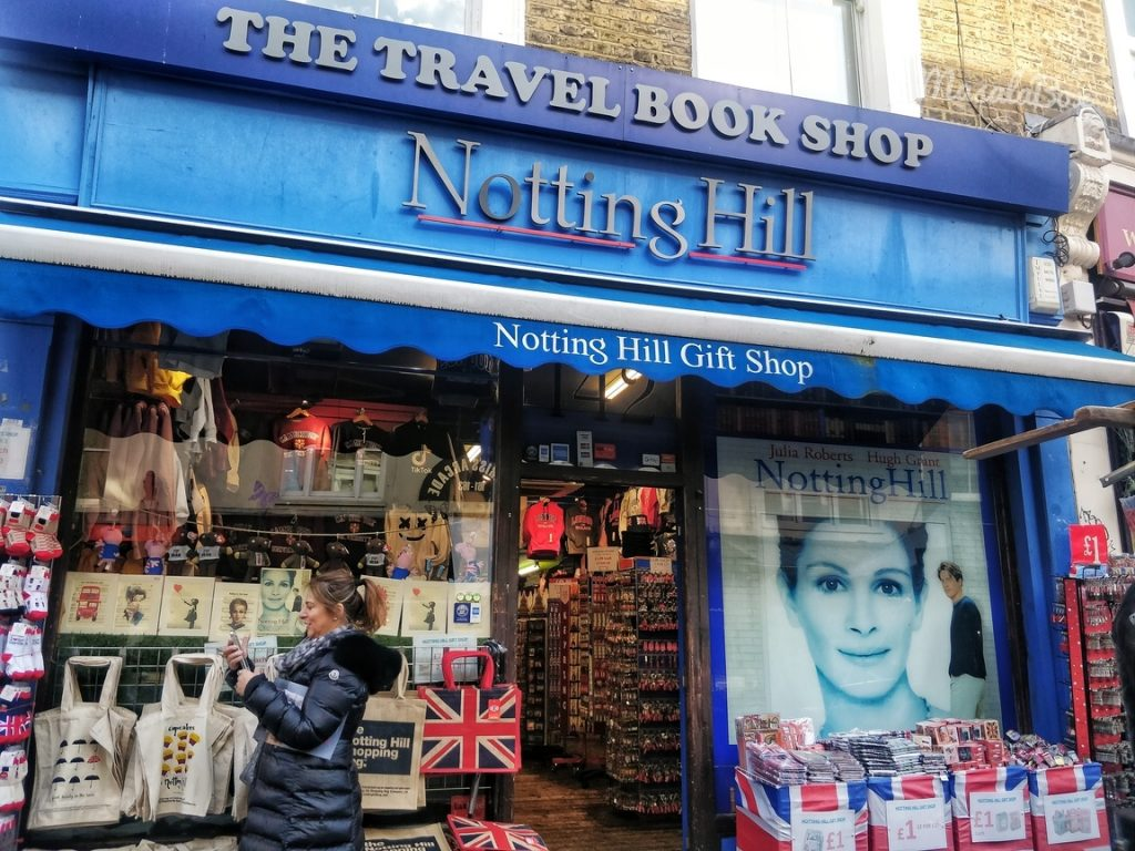 Notting Hill Travel Book Shop